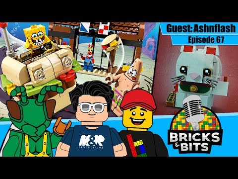 Lego SpongeBob SquarePants Brickheadz MOC Instructions Only - No Bricks