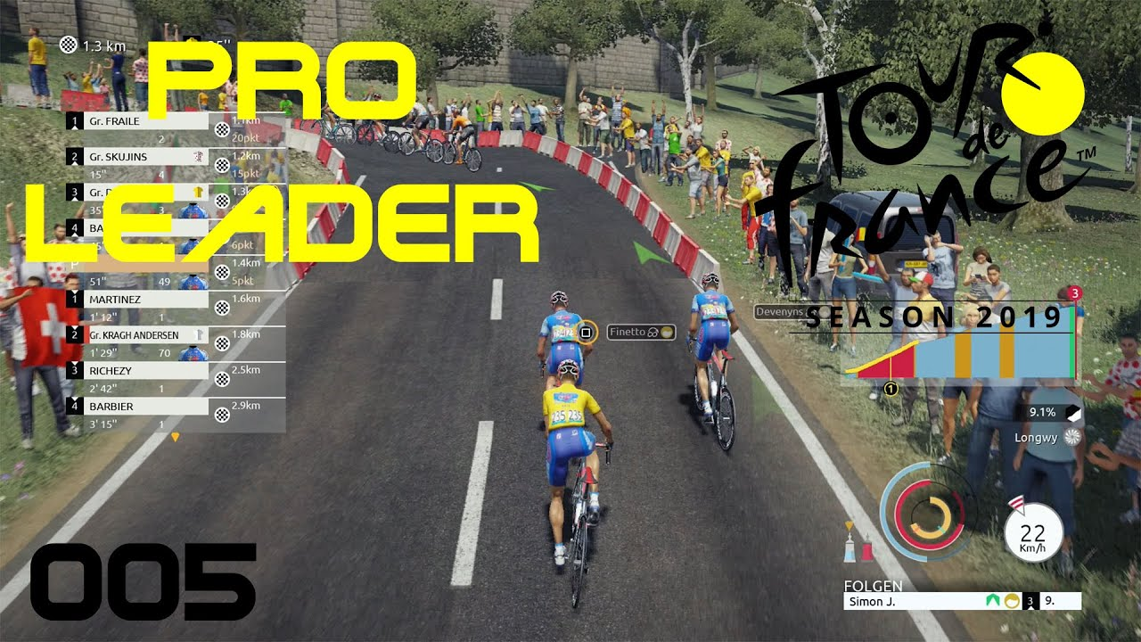 tour de france 2019 ps4 pro leader