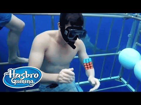 'Twister, Jenga e Rubiks' Brasil - Hasbro Gaming