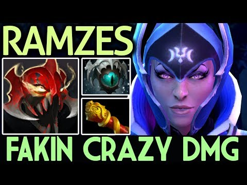 RAMZES Dota 2 [Luna] Fakin Crazy Damage | MOM Build