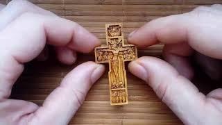 Православный нательный крест Поклонный крест  Обзор#23