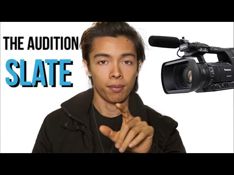 How To Slate For An Audition EASILY