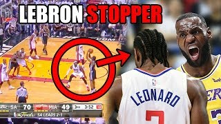 What You DON'T Know About The LeBron & Kawhi NBA Rivalry (Ft. Defense, No Emotion & Insults)