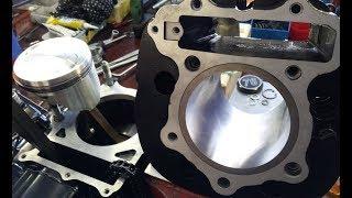 XT 500 Motorbau Video Teil 2