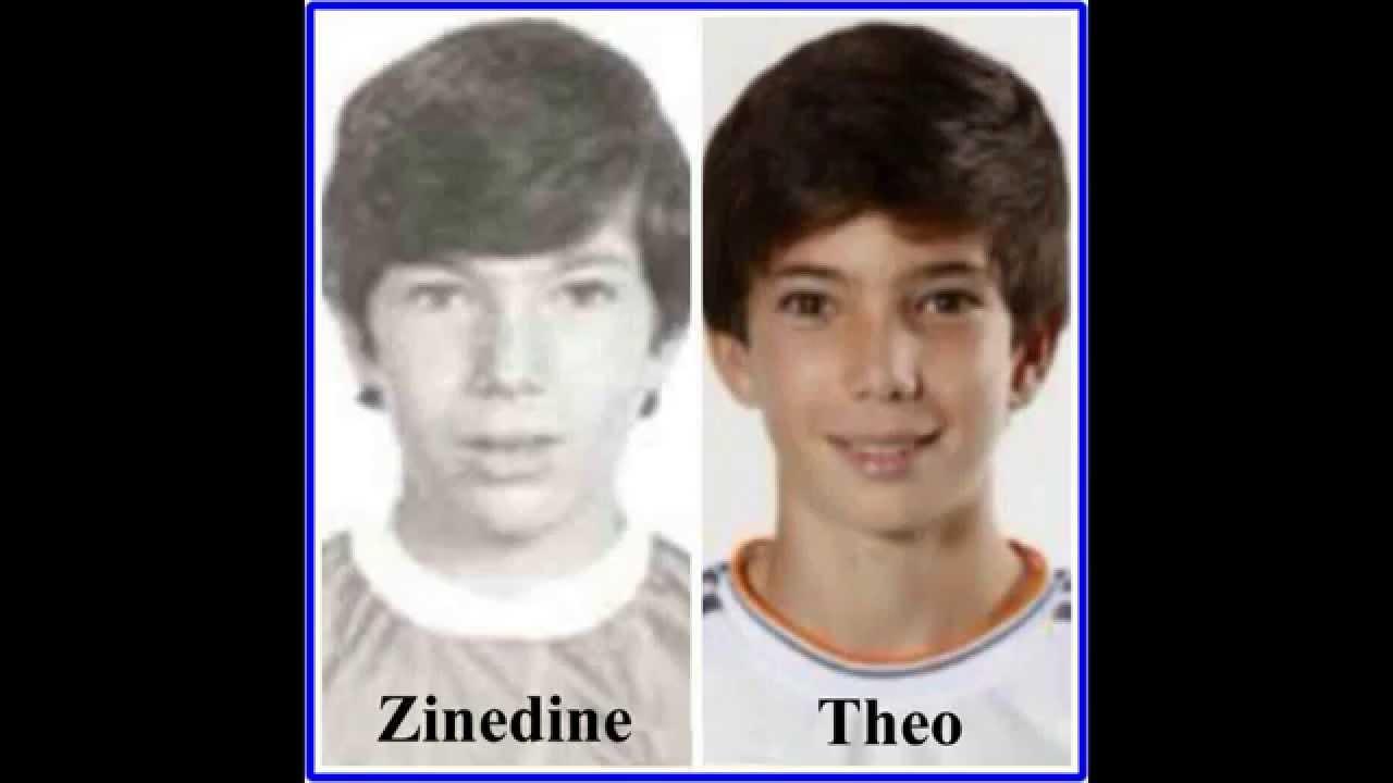 (tournoi au Theo Tir but promesses) Zinedine  Zidane des &