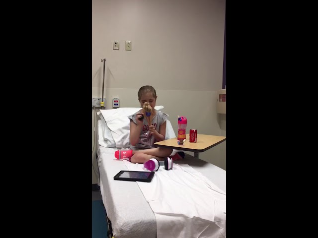 Little girl with Down syndrome battling cancer gets a new birthday
