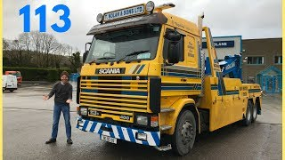 1990 SCANIA 113 Truck Test Drive - What's it Like 28 Year's On? Stavros969