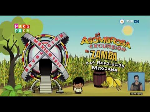 La asombrosa excursión de Zamba a la Revolución mexicana