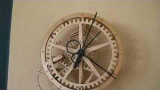 Lance's Wooden Clock