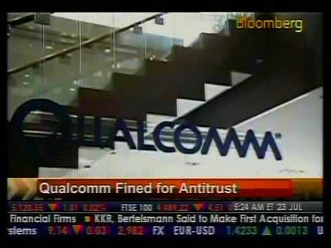 Qualcomm Fined For Antitrust - Bloomberg