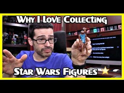 Why I Love Collecting Star Wars Figures