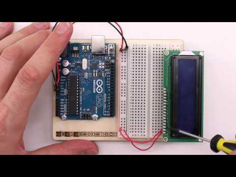 LCD Display mit Arduino ansteuern
