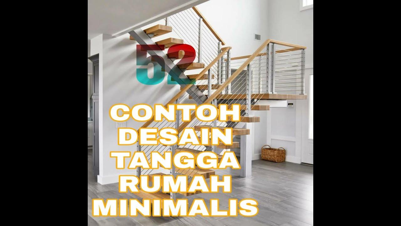 52 gambar desain tangga rumah minimalis terbaru 2020 - YouTube