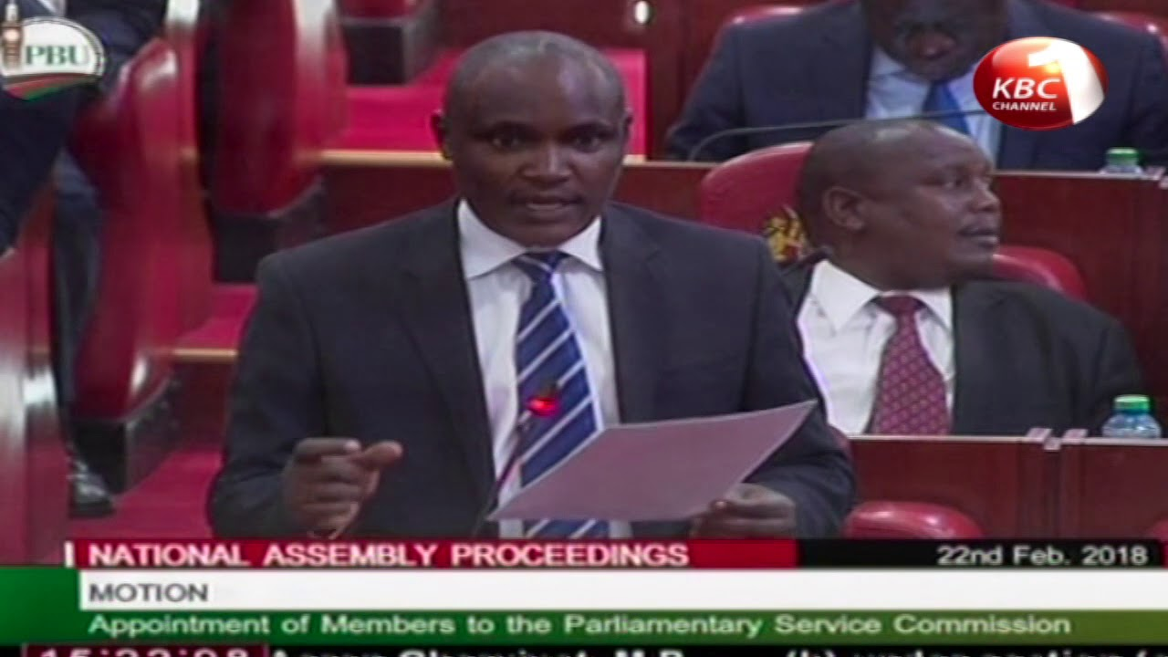 Parliament approves appointment of members to Parliamentary Service Committee