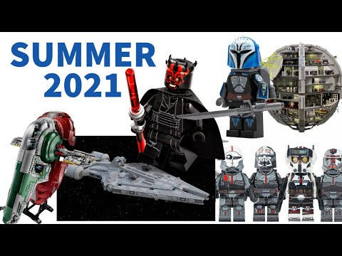 Lego Star Wars Leaks Summer 2021 (Bad Batch Shuttle, Moff Gideon Cruiser, UCS Gunship, Maul, & More