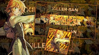 Speed Art #6 - [Banner/Perfil/Anime] - Meliodas/Para Brother Vitorツ • [PsTouch]