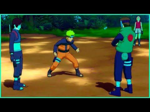 Naruto and Sakura hate Sai | Naruto Shippuden Ultimate Ninja Storm 2 Game |