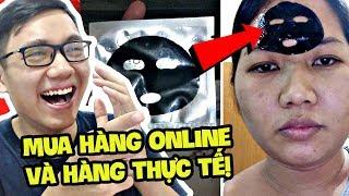 THẢM HỌA MUA HÀNG ONLINE TRÊN MẠNG VỚI HÀNG THỰC TẾ!!! (Sơn Đù Vlog Reaction)