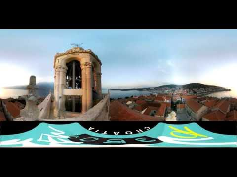 360 video around Croatia 2016 summer