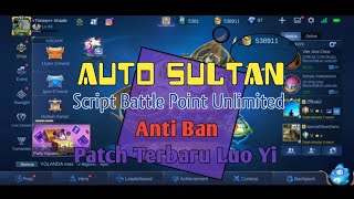 SCRIPT UNLIMITED BATTLE POINT MOBILE LEGEND TERBARU - ANTI BAN | RUANG PUBLIK 13