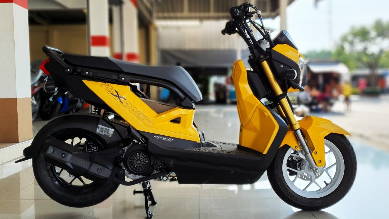 New Honda Zoomer X 110 Youtube