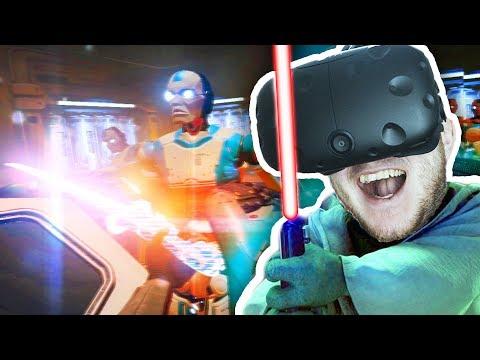 СВЕТОВОЙ МЕЧ ЧЕЛЛЕНДЖ - (HTC Vive VR) - Raw Data