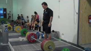 Donny racks 205kg and can