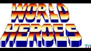 World Heroes Gameplay HD✔ Sega Genesis Mega Drive let's play Walkthrough