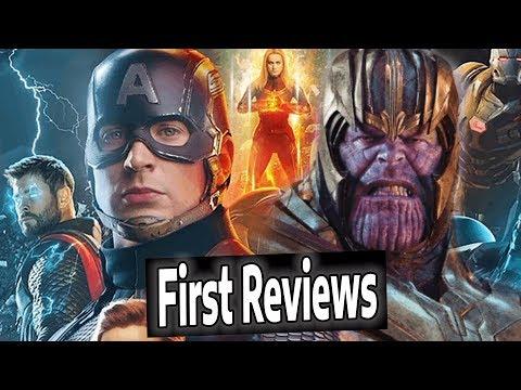 AVENGERS ENDGAME REVIEWS BREAKDOWN | Best Superhero Movie EVER??
