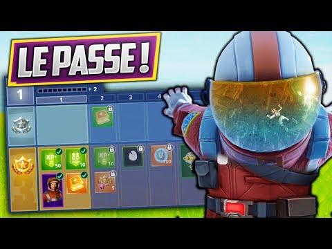 CONTENU DU PASSE DE SAISON 3 DE FORTNITE ! (Fortnite Battle Royale)