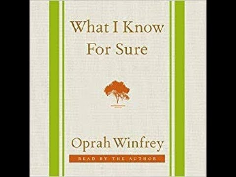 Audiobook | What I Know For Sure | Part - 1 | Audio Shala