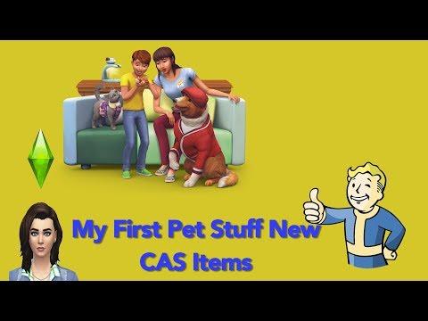 Sims 4 My First Pet Stuff CAS |