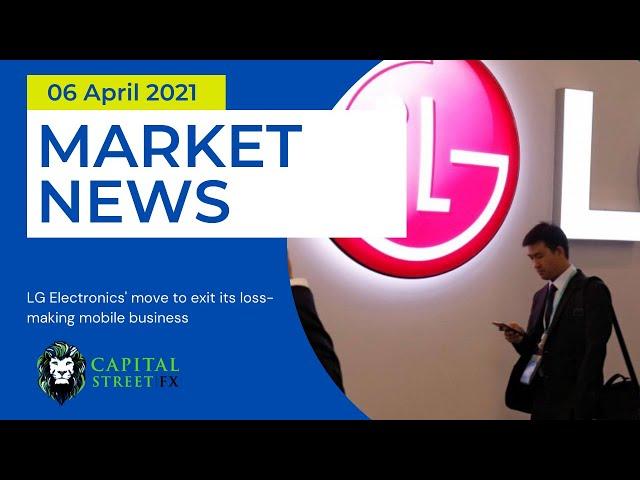 Today's Stock Market News ● Financial Market News ● Capital Street Fx - April 06, 2021