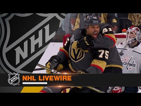 NHL LiveWire: Capitals, Golden Knights mic'd up for suspenseful Game 1 of SCF