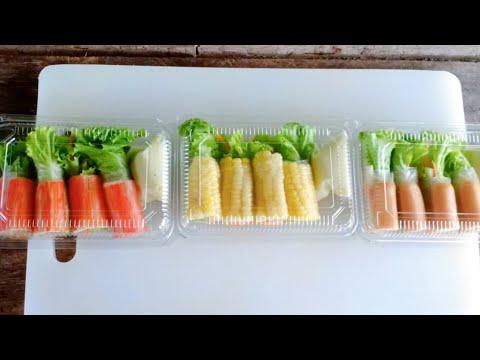 สลัดโรล+วิธีการม้วนให้แน่น+ขายดีมาก   #ทำอะไรขายดีEP.1 roll salad