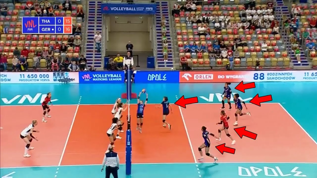 This is Why We Love Thailand | Volleyball Team That Never Give Up (HD)