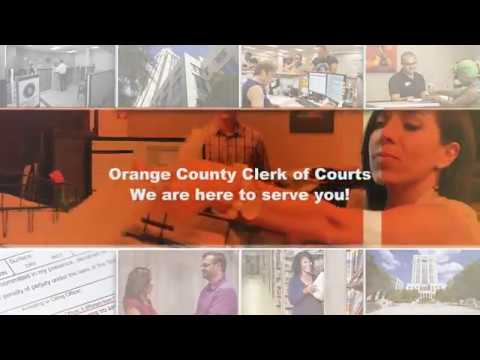 Orange County Clerk of Courts Overview