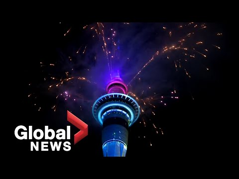 New Year's 2021: Auckland, New Zealand rings in New Year with fireworks show