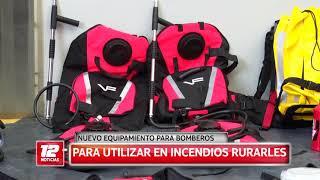 Nuevo equipamiento para Bomberos.