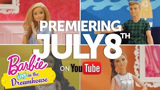 Life in the Dreamhouse Just Got REAL | Barbie LIVE! in the Dreamhouse | Barbie