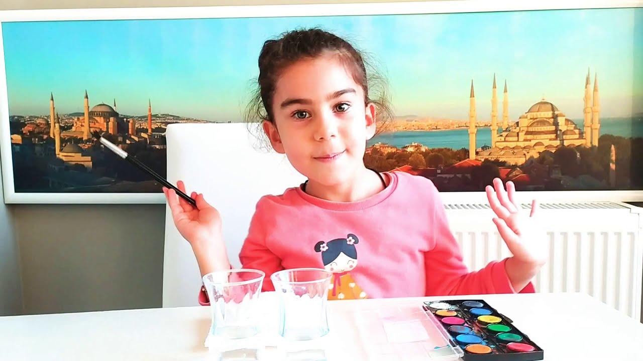Boya videoları | Mor Renk Yapma