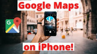How to Use Google Maps, Traffic and GPS on iPhones Free HD Video