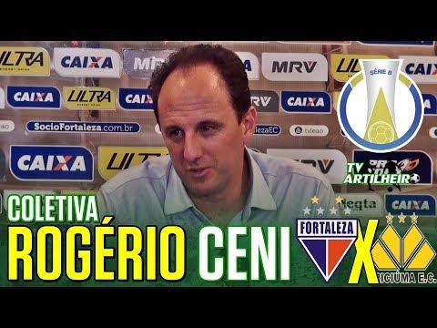 [Série B '18] Coletiva Rogério Ceni | Pós-jogo Fortaleza EC 2 X 0 Criciúma EC | TV ARTILHEIRO