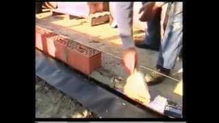 видео Блоки из пеностекла