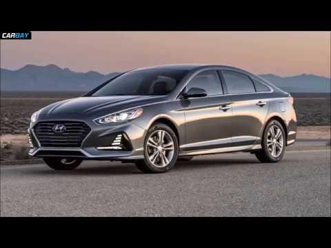 Hyundai Sonata 2019 - Next Gen Hyundai Sonata Spotted With Major Design Changes