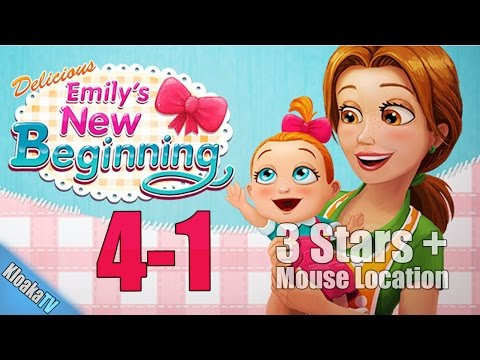 Delicious Emily's New Beginning - Level 4-1 Wu's Cuisine Walkthrough