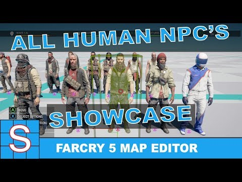 FarCry 5 Map Editor | Human Ai Showcase
