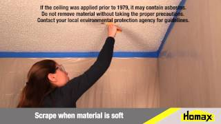 How To Repair Popcorn Ceiling Texture
