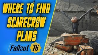 How to get Scarecrow Plans in Fallout 76