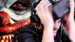 Scared Of Clowns!? DON'T WATCH THIS! | Virtual Reality Horror Game | Oculus Rift DK2